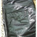 Женские брюки из кожи