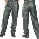 Мужские брюки из кожи