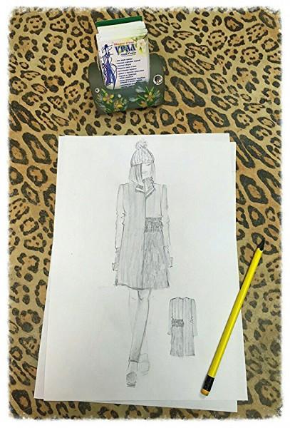 Ультрамодная шубка для смелой модницы