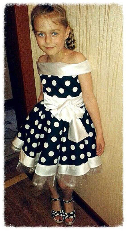 Платье для девочки сшить в ателье 81