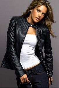 Кожаная куртка – осенний шик