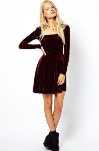 Бархатное платье - волшебство на Новый год!