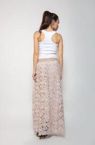 Гипюровая юбка - модный тренд