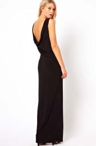 Черное платье с открытыми плечами. Классика с вариациями
